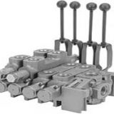 The 60V and 90V series of large sectional valves are ideal for high-flow applications. These valves feature an open-center, parallel design with an adjustable main relief valve and can handle 2500 PSI and flows of 60 GPM and 90 GPM respectively. SAE and NPT port options are available.