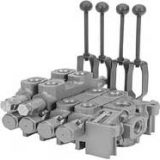 Directional control valves with capacities from 17 to 90 GPM.