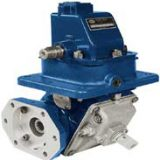 The GB Series front mount gearbox offers a variety of options for crankshaft driven power take-offs.