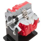 Muncie's OPTIMUM Series high performance gear pumps/motors offer high pressure capabilities and are designed for durability and long life for many industries and applications.